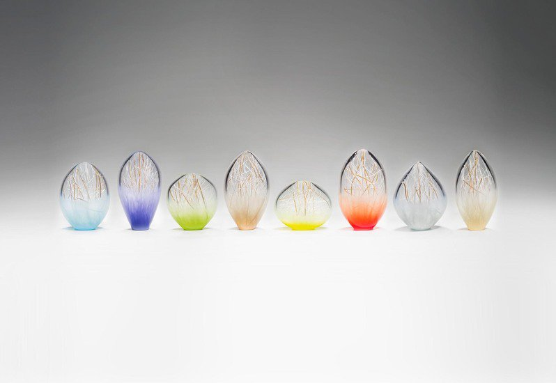 Composition of small penumbra sculpture london glassblowing treniq 2