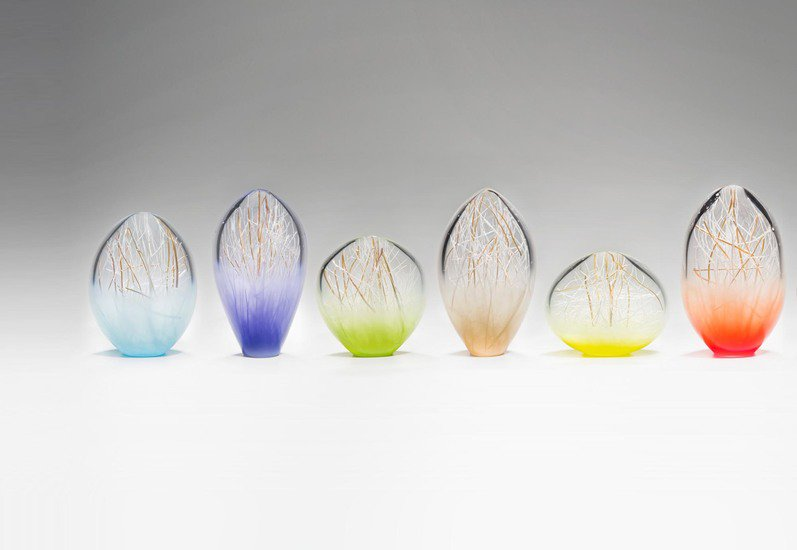 Composition of small penumbra sculpture london glassblowing treniq 3