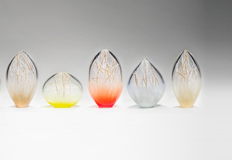 Composition of small penumbra sculpture london glassblowing treniq 4