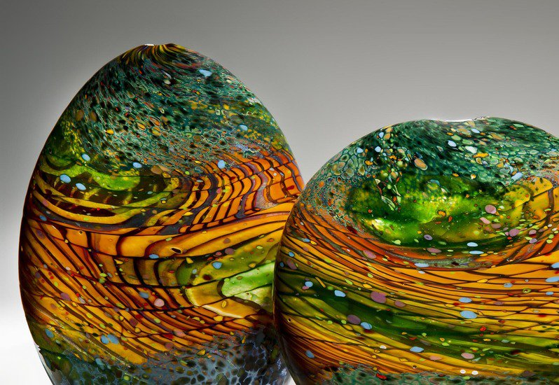 Kilmt landscape sculpture london glassblowing treniq 2