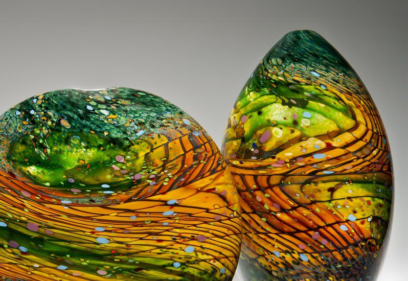 Kilmt landscape sculpture london glassblowing treniq 3