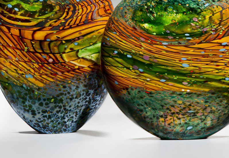 Kilmt landscape sculpture london glassblowing treniq 4