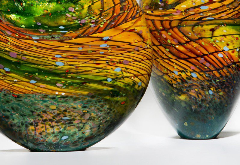 Kilmt landscape sculpture london glassblowing treniq 5