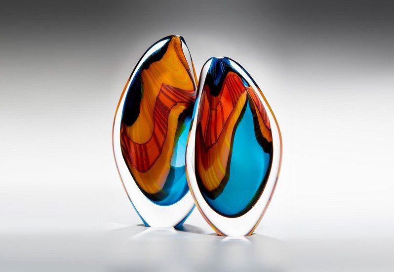 Turquoise paradiso sculpture london glassblowing treniq 1