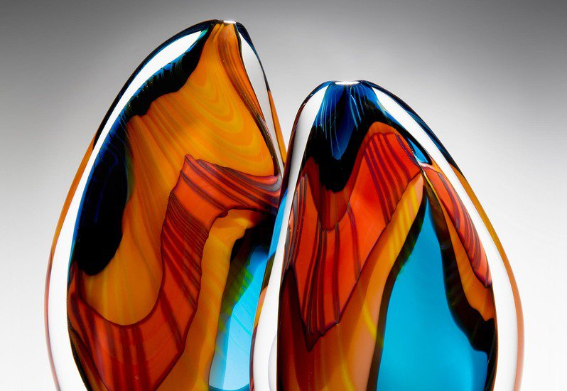 Turquoise paradiso sculpture london glassblowing treniq 2