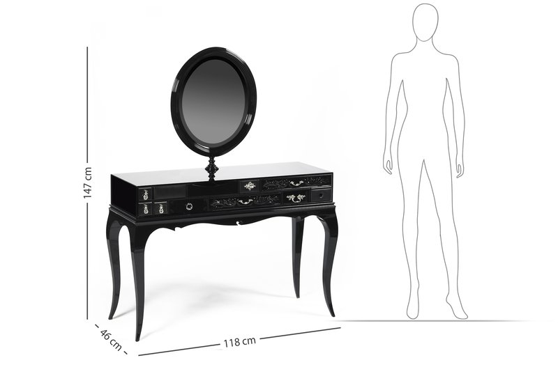 Melrose dressing table boca do lobo treniq 7