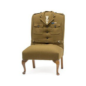 Army Uniform Armchair - Rhubarb London - Treniq