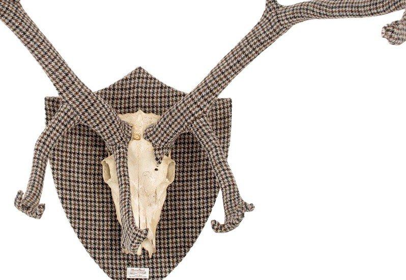 Tweed deer antlers rhubarb london treniq 4