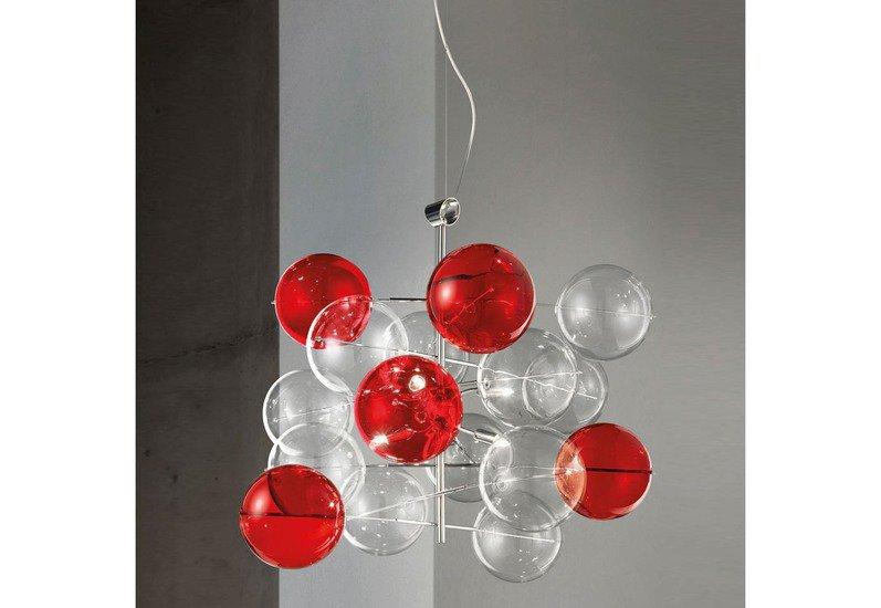 Atom suspension lamp metallux treniq 1