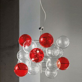 Atom Suspension Lamp - Metallux - Treniq