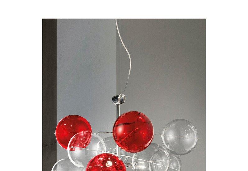 Atom suspension lamp metallux treniq 3