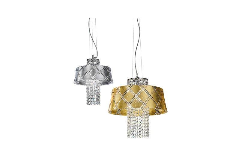 Medusa suspension lamp metallux treniq 1