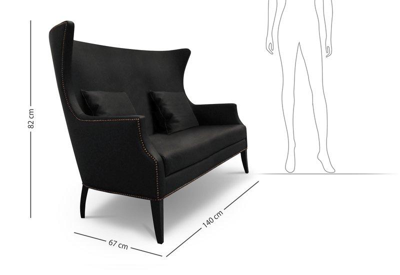 Dukono 2 seat sofa brabbu treniq 7