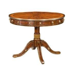 Regency Rosewood Drum Table