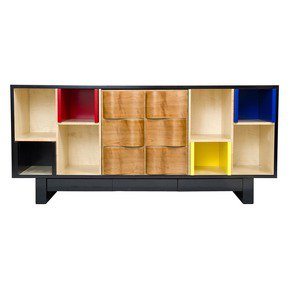 Mondrian Sideboard - Studio KM Alain Marzat - Treniq