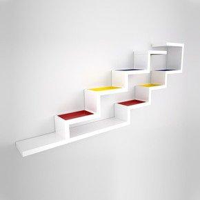 Zig Zag Bookshelf - Studio KM Alain Marzat - Treniq