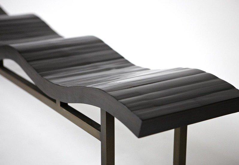 Wave bench aguirre design treniq 5