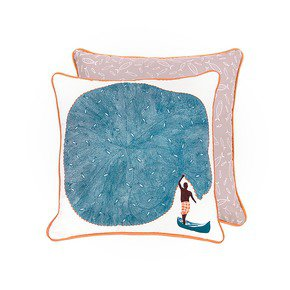 Catch of The Day Cushion - The Elephant Stamp - Treniq
