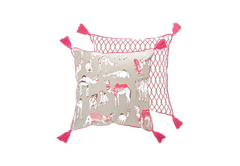 Different camels cushion the elephant stamp treniq 1