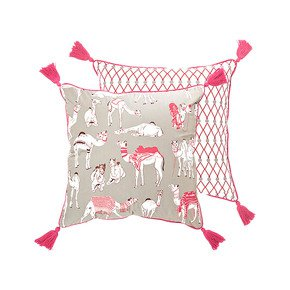 Different Camels Cushion - The Elephant Stamp - Treniq