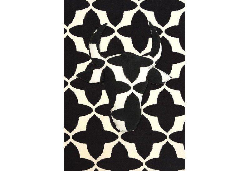 Black buta canvas fabric no mad treniq 1