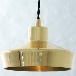 Splendor Brass Pendant Light