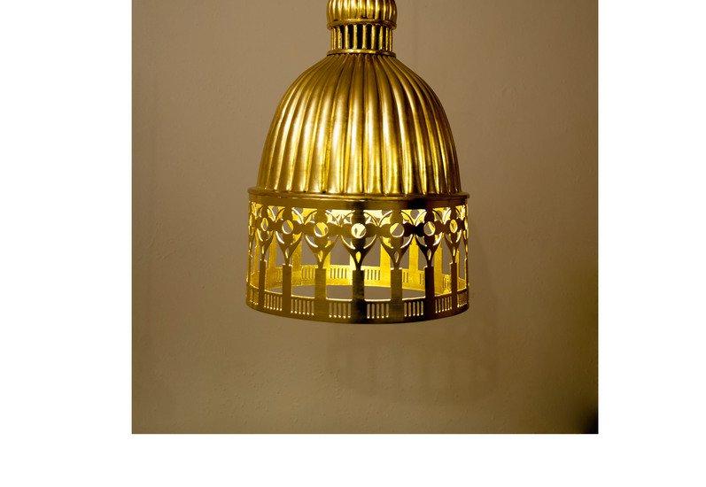 Vento suspension lamp sahil and sarthak treniq 3