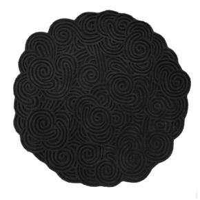 Rock Round Rug