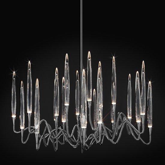 Il pezzo 3 chandelier 21 lights  black nickel