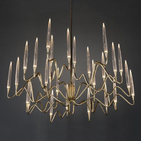 Il pezzo 3 round chandelier 120 diameter 2