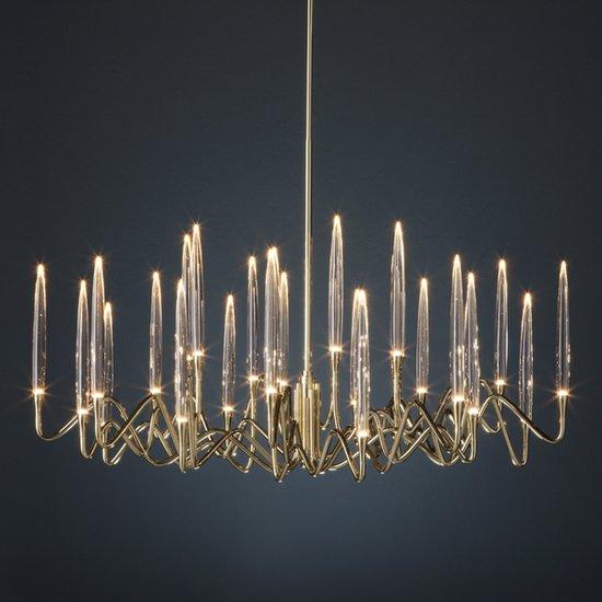 Il pezzo 3 round chandelier 120 diameter 1