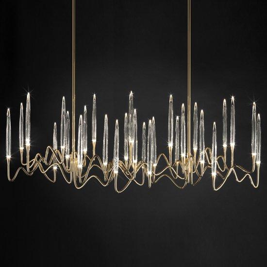 Il pezzo 3 chandelier 30 lights  brass