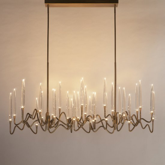 Il pezzo 3 chandelier 30 lights light bronze 1