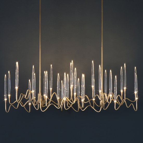 Il pezzo 3 chandelier 30 lights light bronze 2