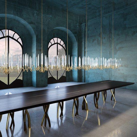 Il pezzo 3 endless chandelier