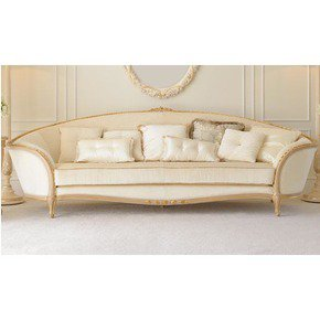 Luxury Italian Ivory Louis Reproduction Sofa - Jennifer Manners - Treniq