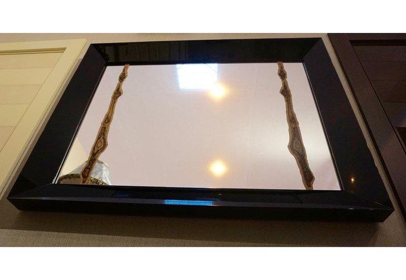 Mirror with macassar fragment wood interior solutions ltd treniq 4