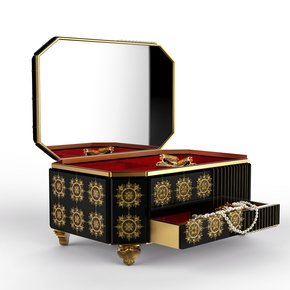 Filigree Jewelry Case