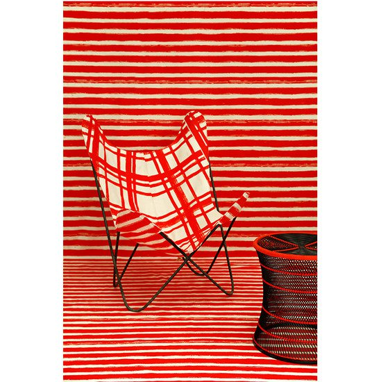 Nomad india black ajara chair red chair cover
