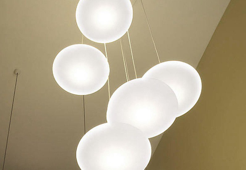 Ethel 6 drop suspension lamp one foot taller treniq 2