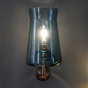 Waisted Wall Lamp - One Foot Taller - Treniq