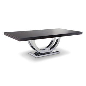 Metro Chrome Dining Table - Woodcraft - Treniq