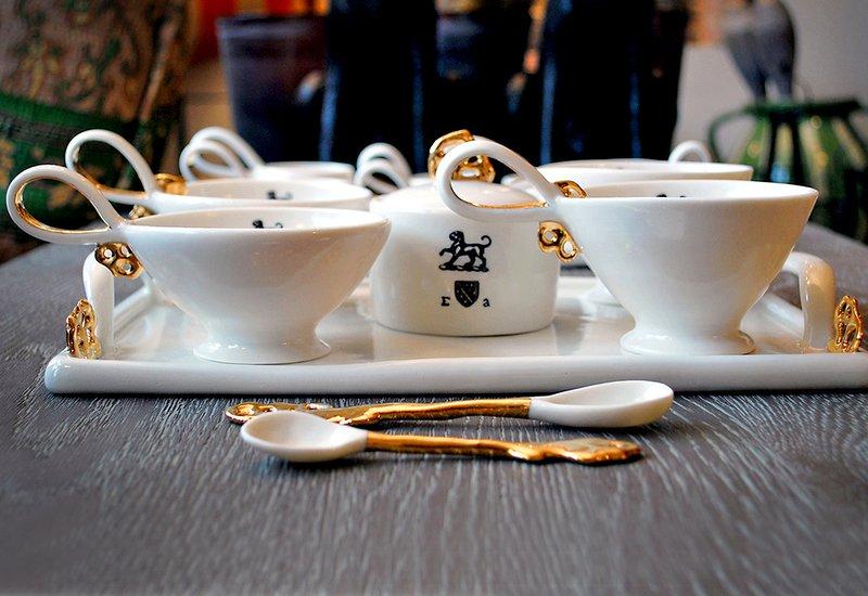 Heritage tray gold plated emma alington treniq 3