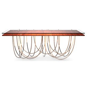 Cassini Dining Table - Duquesa & Malvada - Treniq