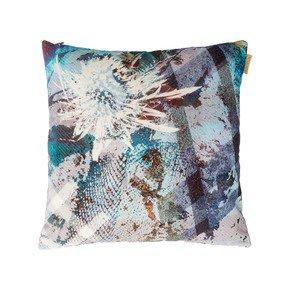 Emerald Thistle Velvet Cushion - Mairi Helena - Treniq