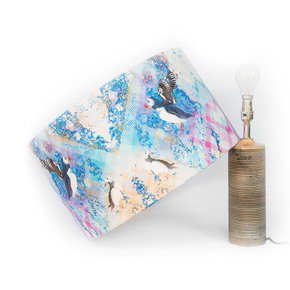Puffin Flight Lampshade Medium - Mairi Helena - Treniq