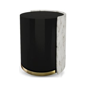 Marble Side Table - Duquesa & Malvada - Treniq