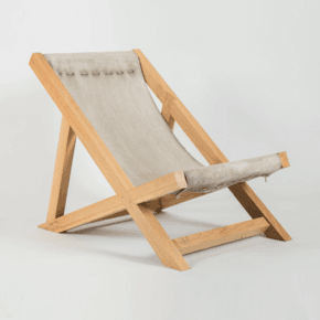 Concrete Canvas Deckchair