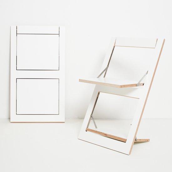 Flaepps klappstuhl folding chair white ambivalenz hr 1to1