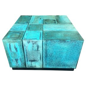 Moroccan Combo Coffee Table Patina